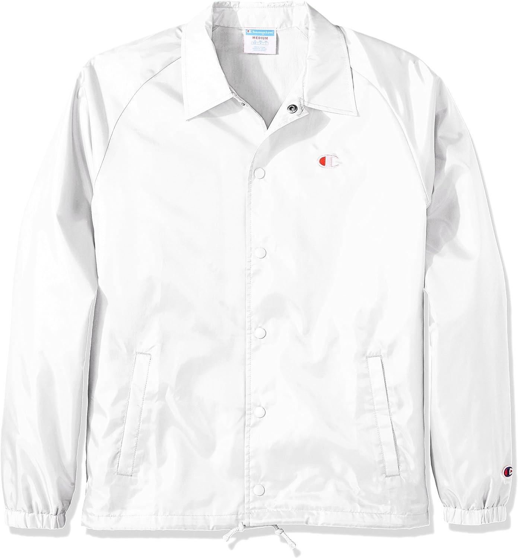Champion LIFE Men's Coaches Jacket West Breaker Edition: Clothing