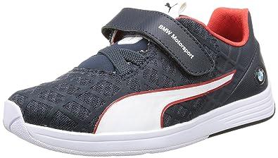 GarçonBleublue33 Eu Evospeed Lo Basses Puma BmwSneakers jLc3Rq54AS