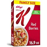 Kellogg's Special K, Breakfast Cereal, Red Berries, With Real Strawberries, Value Size, 16.9oz Box