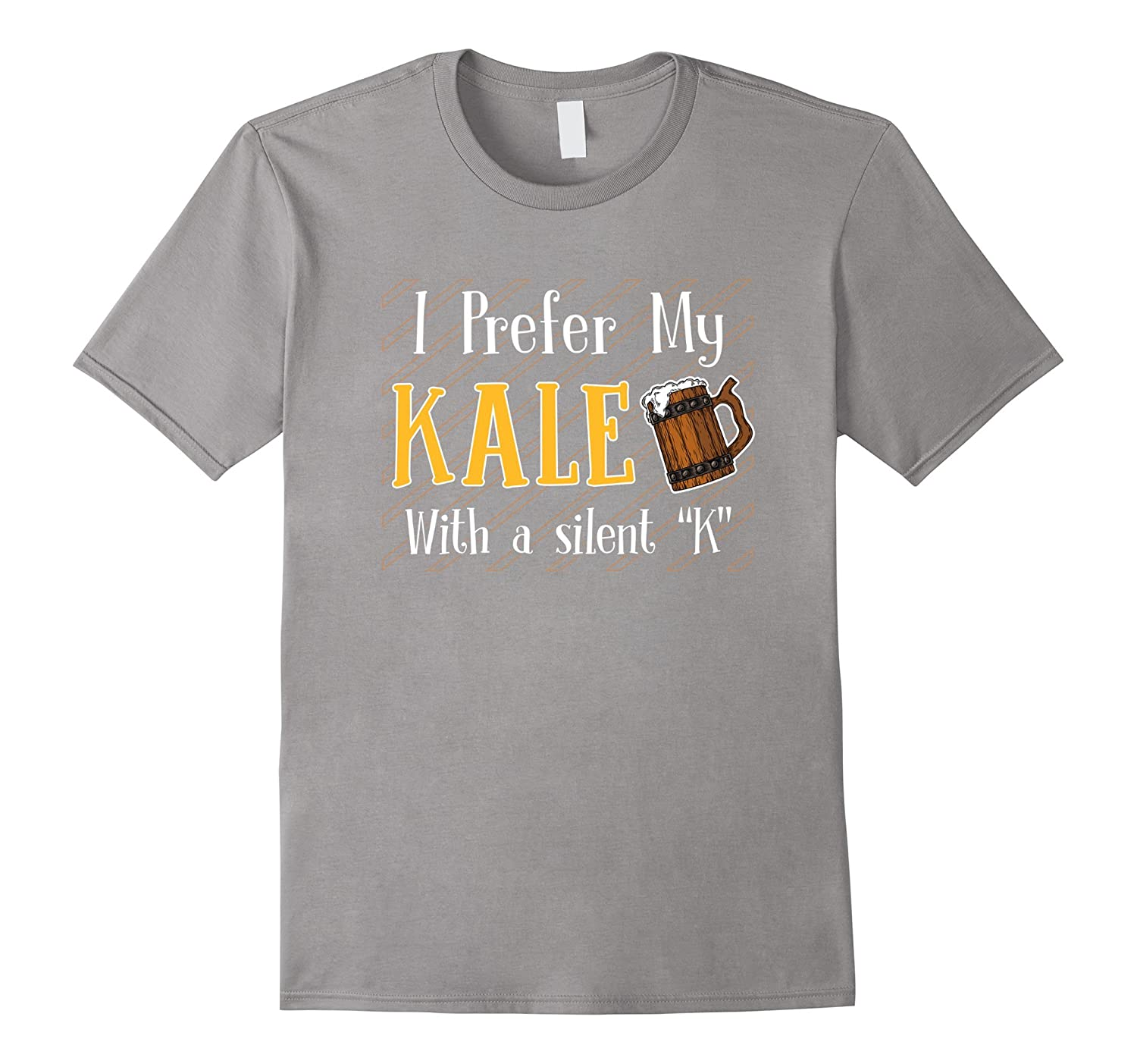 9bdb8dffb I Prefer My Kale With A Silent K Funny Beer Lover Shirt-ANZ ⋆ Anztshirt