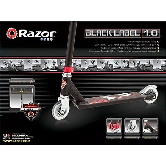 Razor 13018103 Black Label 1,0 - Patinete, Color Negro ...
