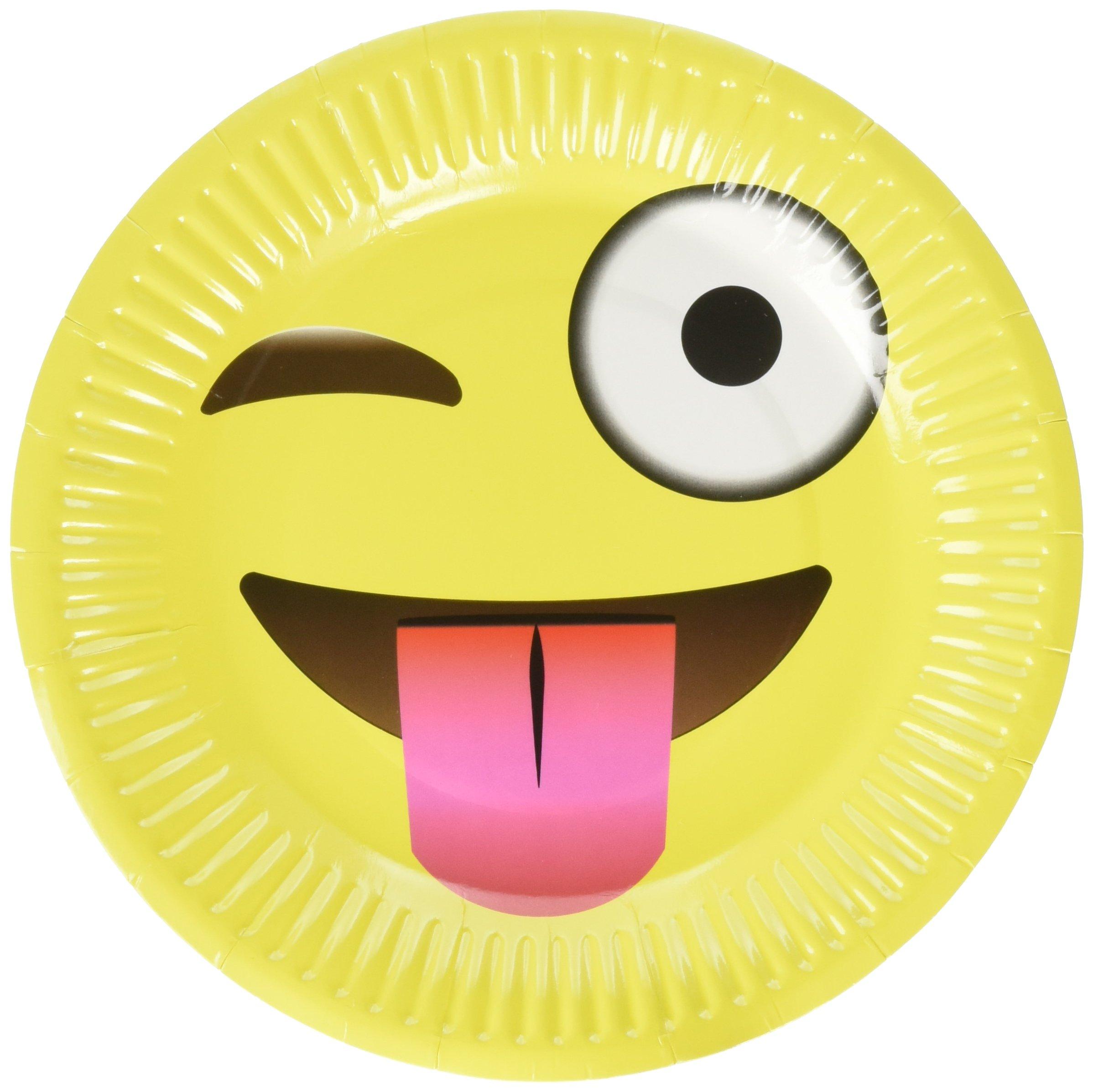 LiveEco LE-EPP-50 Party Plates, Yellow