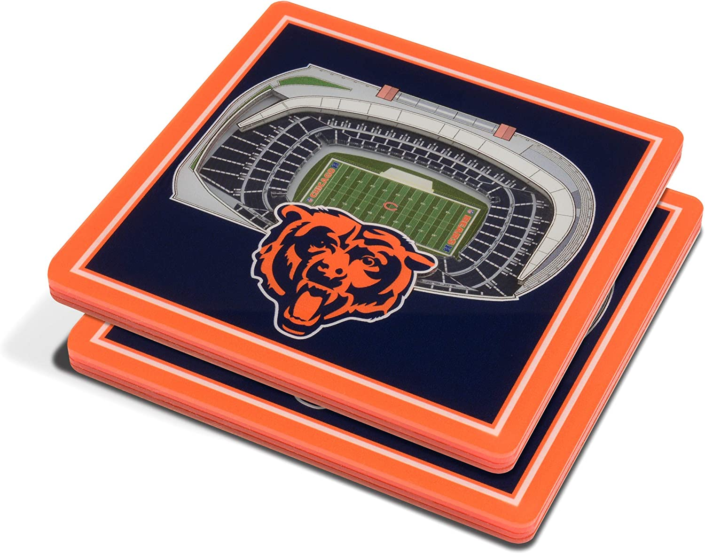 YouTheFan NFL 3D StadiumView Coasters