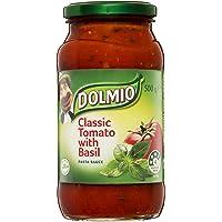 Dolmio Classic Tomato Pasta Sauce with Basil, 500 g, Classic Tomato with Basil