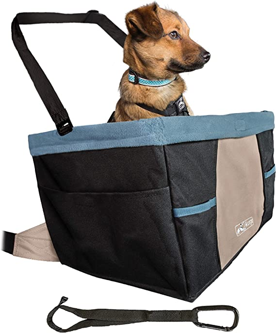 Kurgo Car Pet Booster Seat for Dogs or Cats - Best for Stability