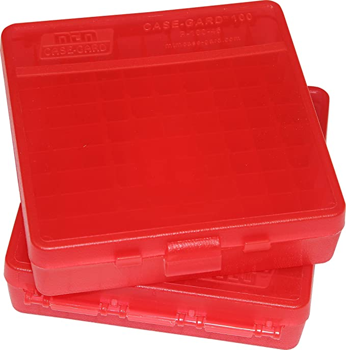 10 Mm 100 Round Plastic Ammo Boxes clear 2 45 Acp 40 Cal