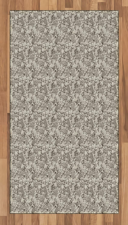 Amazon Com Ambesonne Vine Area Rug Artistic Hand Drawn Grapevine