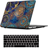 iCasso MacBook Air 13 Case Ultra Slim Plastic Frosted Matte Hard Shell Soft-Touch Snap On Cover for MacBook Air 13 inch (Model: A1369 / A1466) (Bohemia)