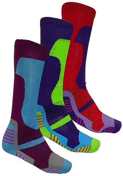 Multi Pack - calcetines de invierno, suaves, acolchados, térmicos, largos