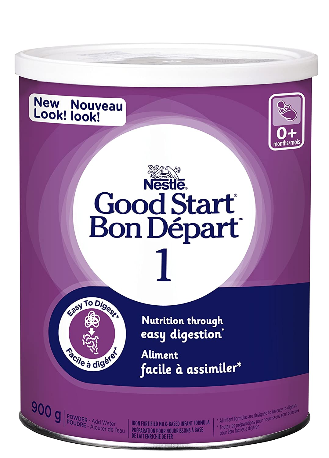 NESTLÉ GOOD START 1, Powder, 900g Packaging Made Without