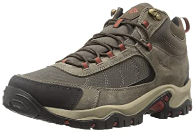 851785fa76a339 Columbia Men's Granite Ridge MID Waterproof Wide Hiking Shoe Mud, Rusty  11.5 2E US