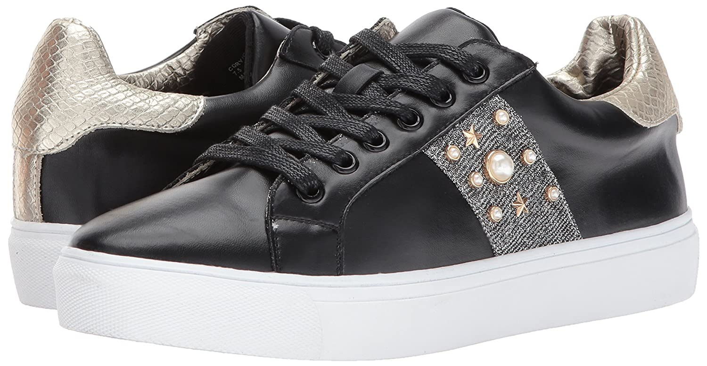 STEVEN by Steve Madden Women's Cory Fashion Sneaker B071VLXLJ8 7 B(M) US Black/Multi