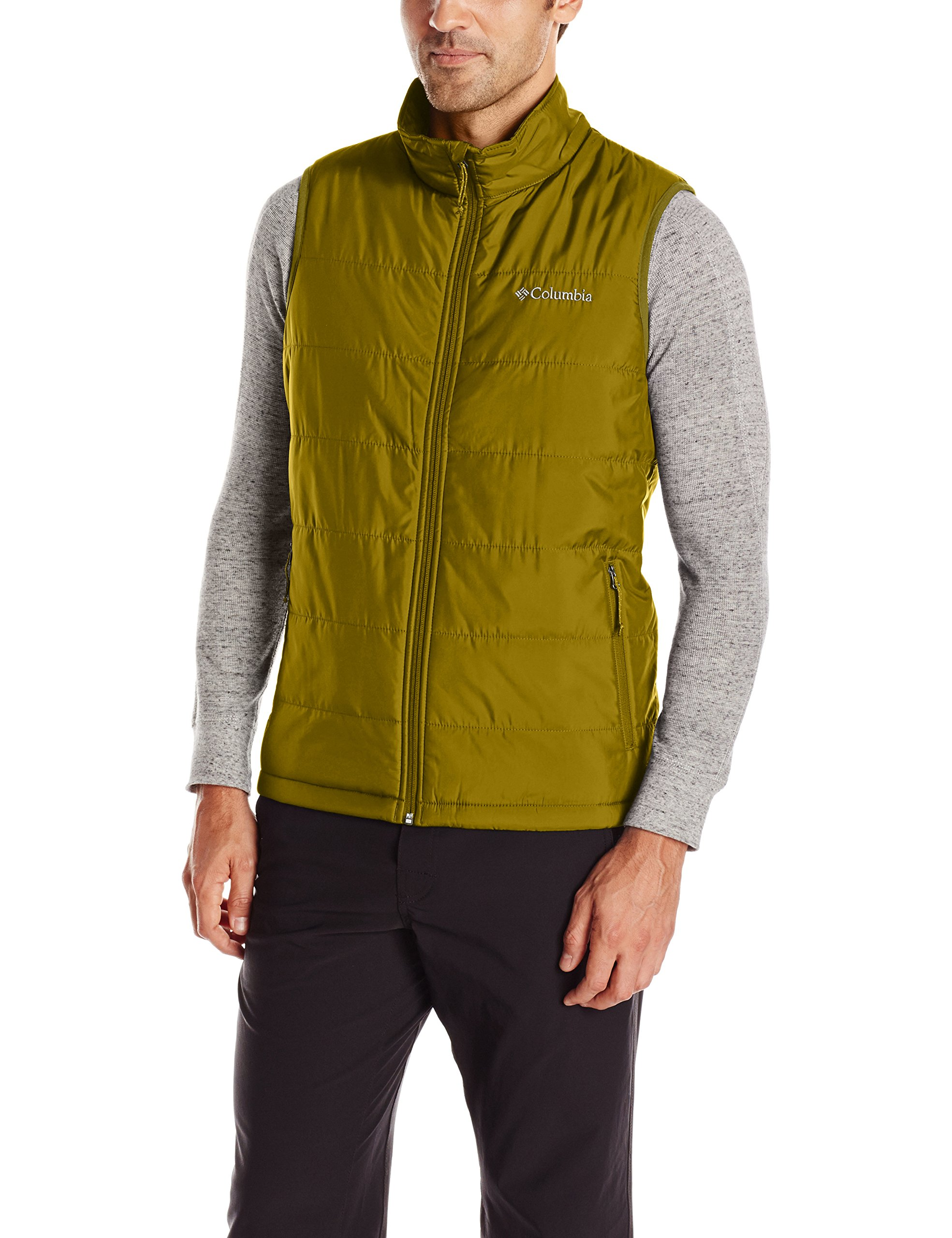 Columbia Men's Saddle Chutes Vest, X-Large, Mossy Green by Columbia