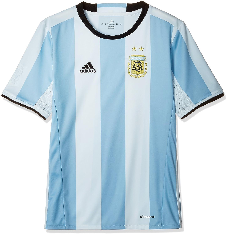 Adidas Jungen AFA H Jersey Y T-Shirt, Weiß Blau