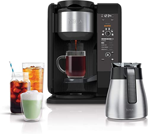 Ninja Hot and Cold Brewed System Auto-iQ Tea and Coffee Maker