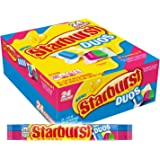 STARBURST Duos Full Size Fruit Chews Candy, 2.07-Ounce Packs 24-Count Box