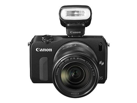 48 opinioni per Canon EOS M 18.0 MP Fotocamera Digitale, Schermo LCD 3.0 Pollici, Obiettivo