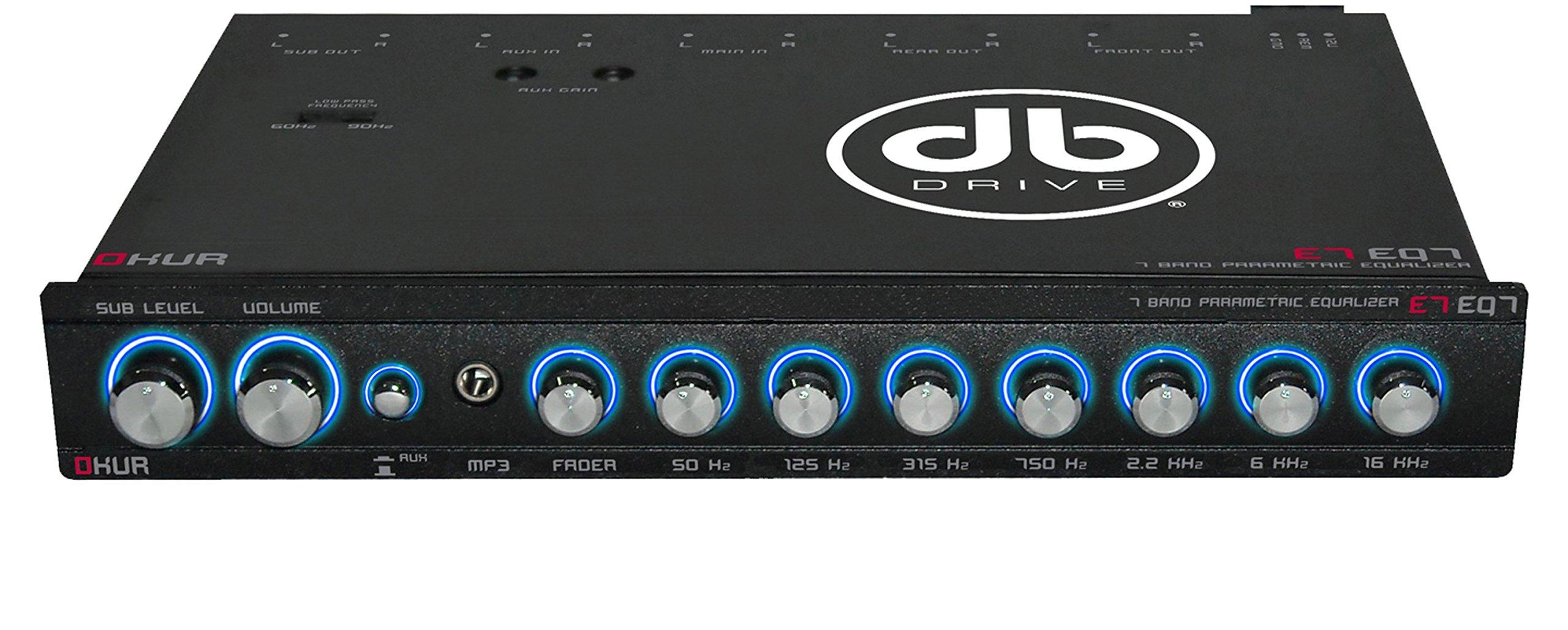 db Drive E7 EQ7 7-Band Equalizer