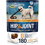 VETIQ Vet Recommended Hip and Joint Supplement for Dogs, Chicken Flavored Soft Chews
