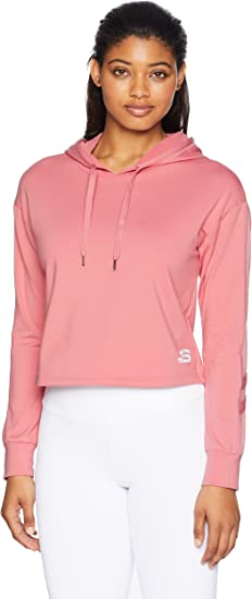 Skechers Women's Sporty Cropped Hoodie
