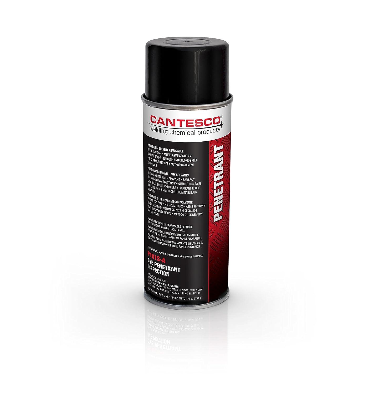 CANTESCO P101S-A tinte rojo visible penetrante, disolvente extraíble