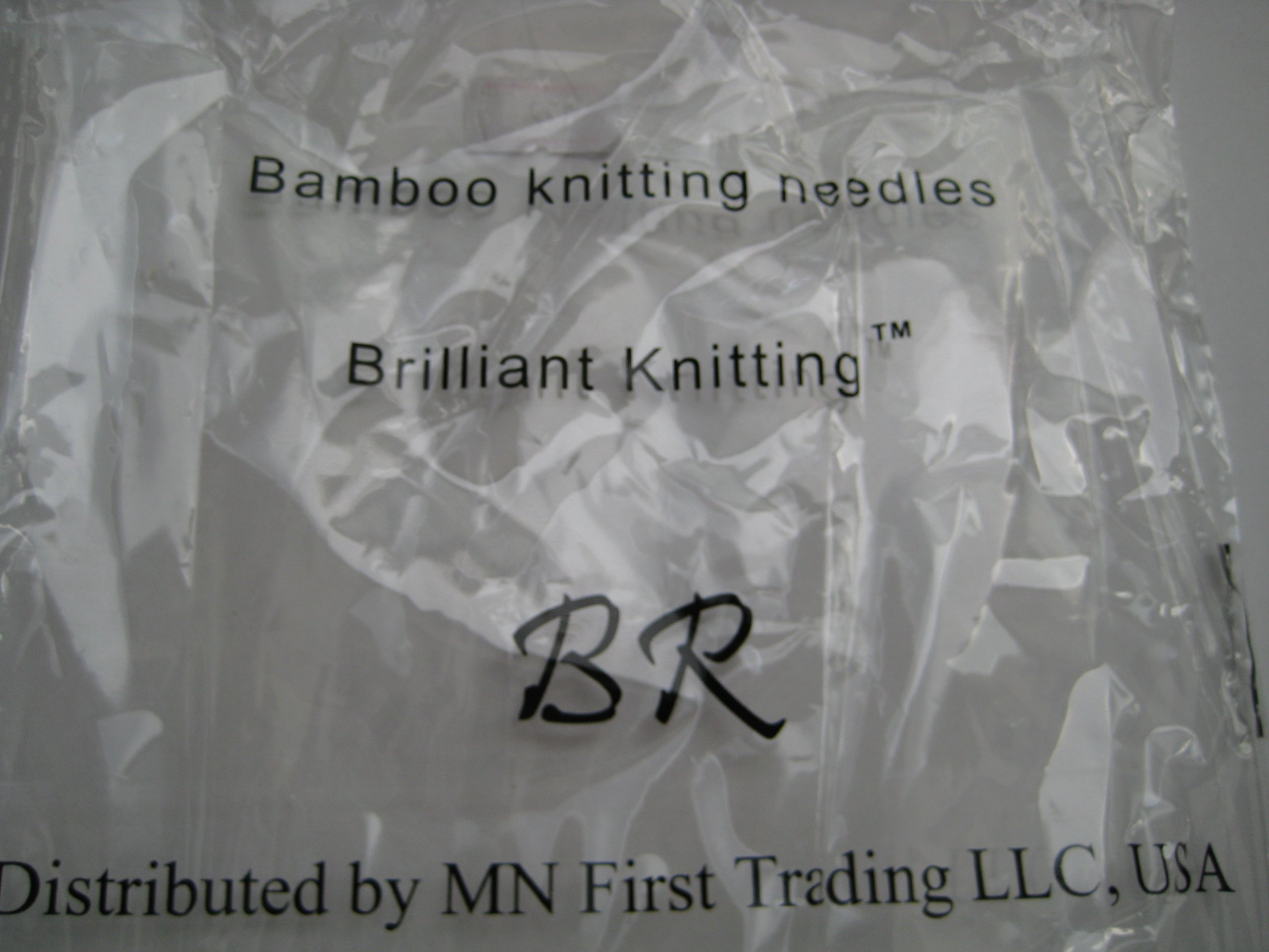 Bamboo Circular Knitting Needles Size US 35 (19 mm) BrilliantKnitting (BR Brand), length 29'' inches from tip to tip