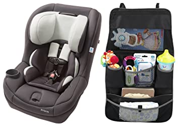 Maxi Cosi Pria 70 Convertible Car Seat Mineral Grey With Backseat Organizer