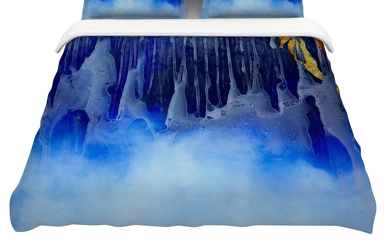 104 x 88 104 x 88 Kess InHouse Josh Serafin You and Me King Cotton Duvet Cover