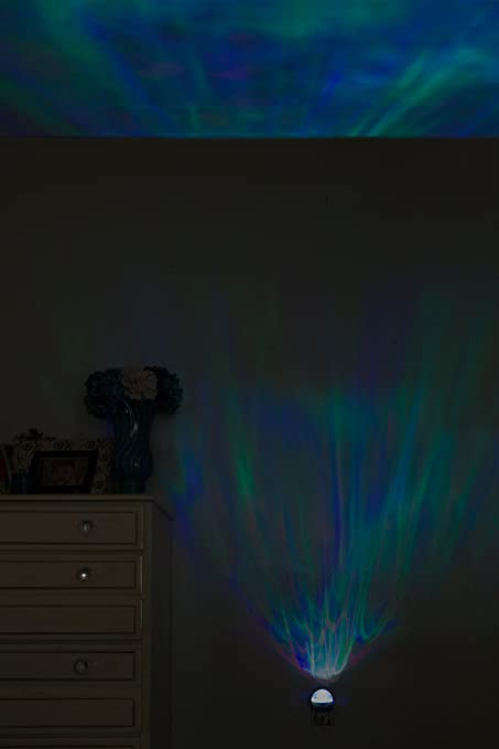 Amazon.com: Projectables Space Nebula LED Motion Night Light with Atmospheric Effects, 12355, Motion Effects Project Onto Wall or Ceiling: Home Improvement