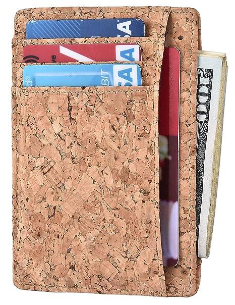 557684f52b5f RFID Blocking Wallet Minimalist Slim Leather Credit Card Holder for Men   Amazon.co.uk  Luggage