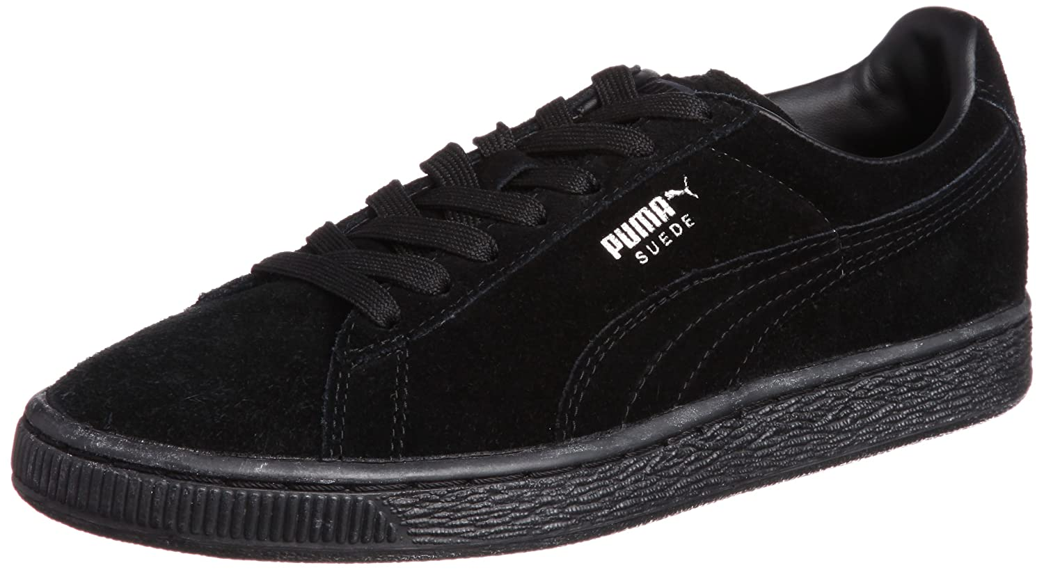 Puma Suede Classic+, Zapatillas Unisex Adulto 43 EU|Negro (Black/Dark Shadow)
