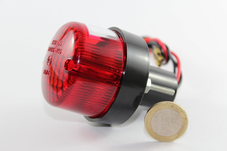 luz trasera mini redonda cafe racer homologado JMP 705 20 04