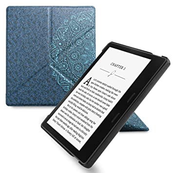 WALNEW Amazon Kindle Oasis Stand Case Cover Kindle Oasis Origami Case-Ultra  Lightweight PU Leather Smart Cover for 7 Inch Kindle Oasis 2017, 9th