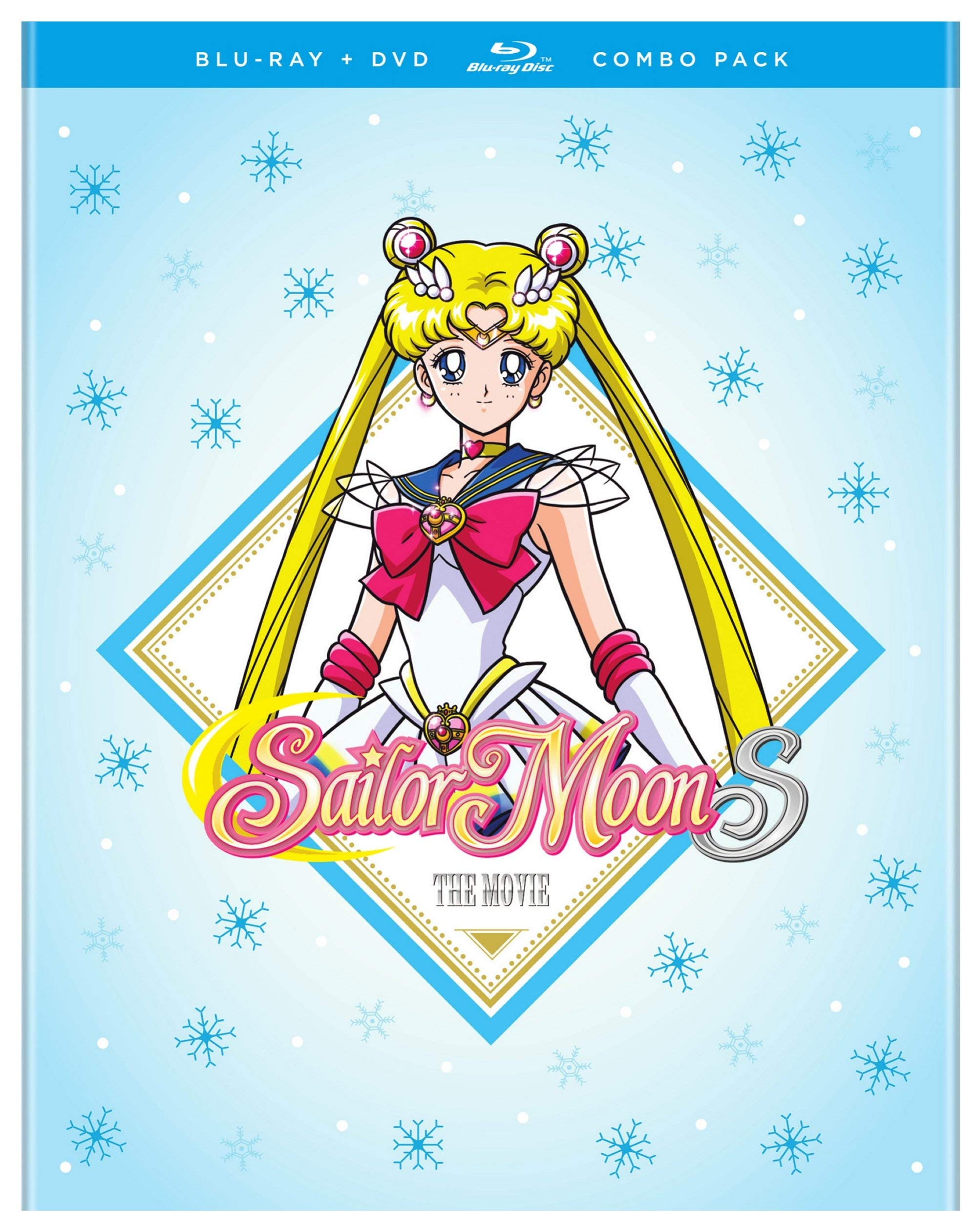 Blu-ray : Sailor Moon S The Movie Combo Pack (With DVD, 2 Pack, Amaray Case)