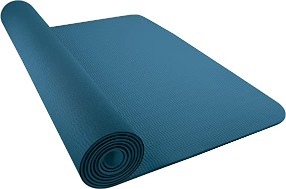 poetas calidad voltereta  Nike 3mm Yoga Mat (One Size) (Noise Aqua/Ocean Bliss): Amazon.co.uk:  Clothing