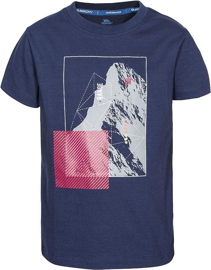 Trespass - Camiseta Modelo Lowie para niños (2/3 Años) (Azul Marino): Amazon.es: Ropa y accesorios