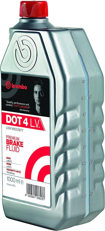 Brembo Premium Brake Fluid DOT 4 LV