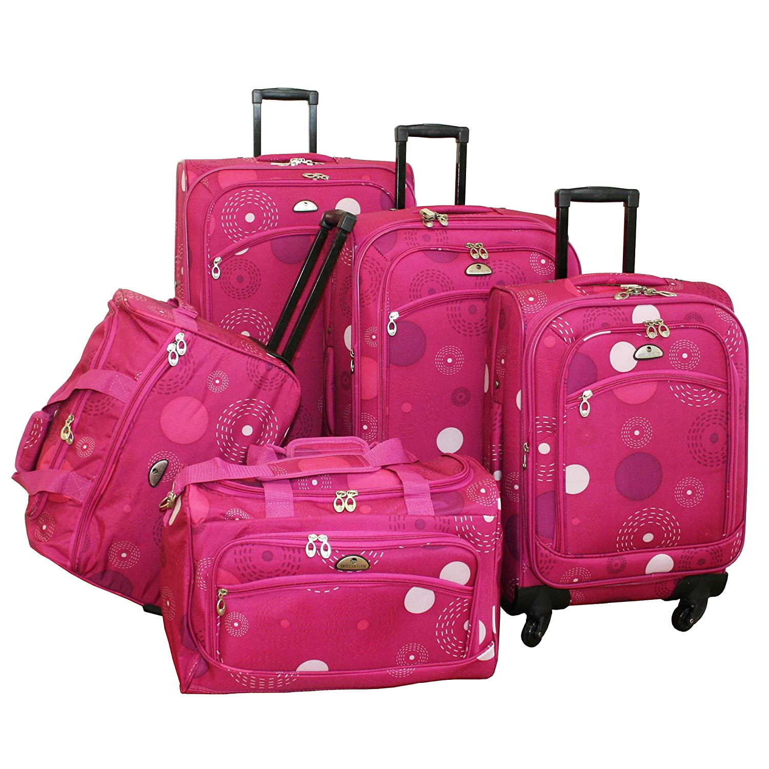 Pink Suitcase Australia Mc Luggage