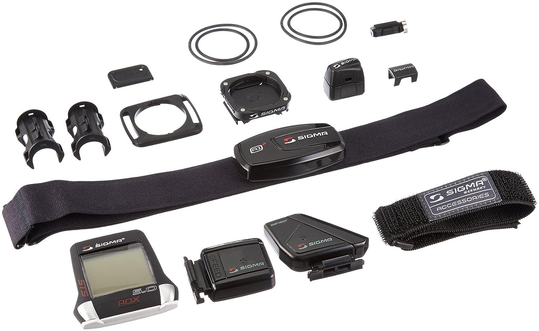Sigma ROX 5.0 STS Inalámbrico Negro - Ordenador para Bicicletas: Amazon.es: Deportes y aire libre