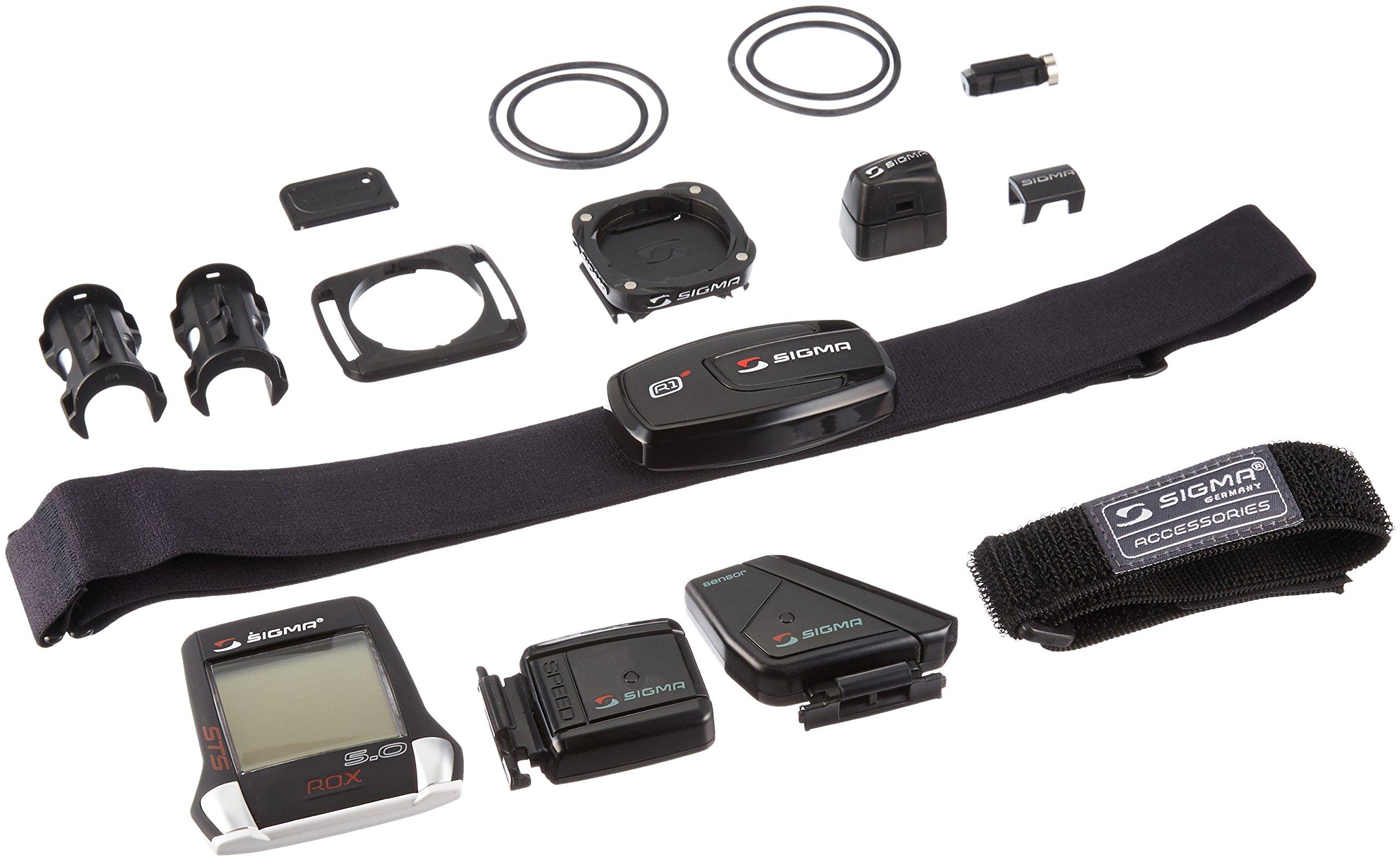 Sigma Sport ROX 5.0 Cyclocomputer, Black