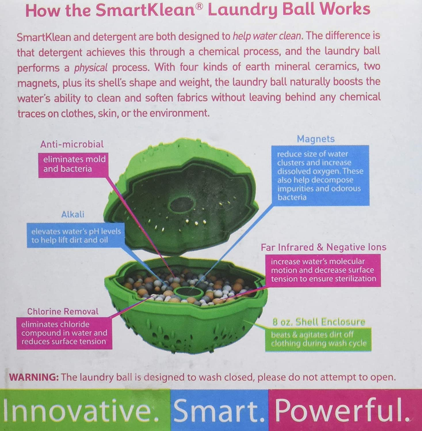 Buy Smartklean Laundry Ball Ditch Toxic Laundry Detergents