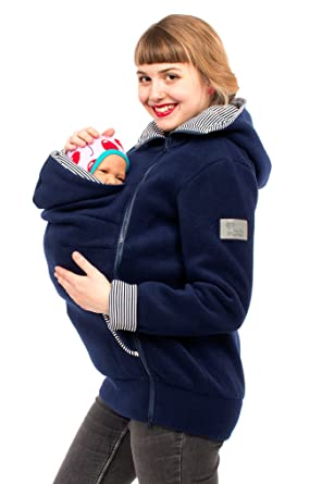 Tragejacke für Mama    Baby Tragepullover für Tragetuch Umstandsjacke 8c98d1c5cdd