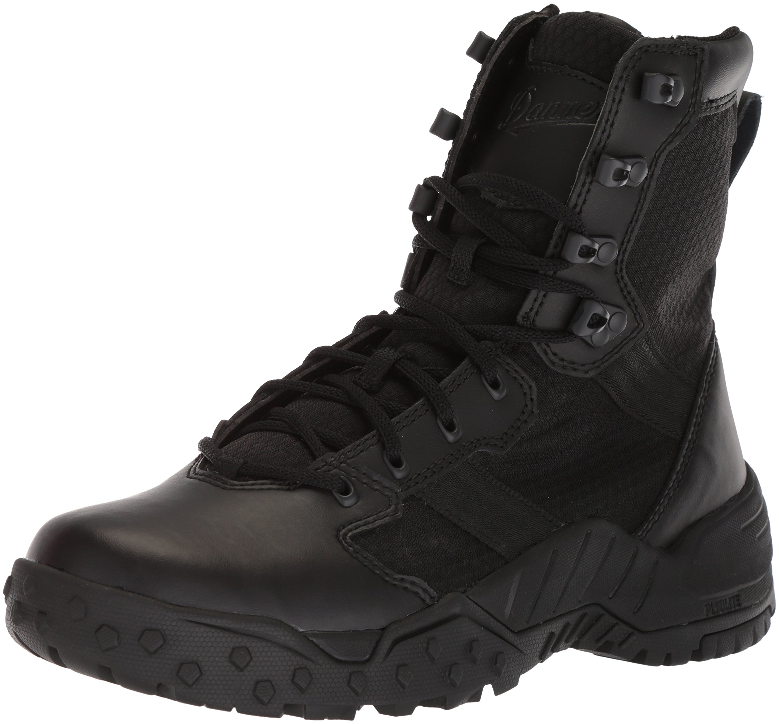 Danner Men's Scorch Side-Zip 8'' Military and Tactical Boot, Black Hot, 10.5 2E US by Danner