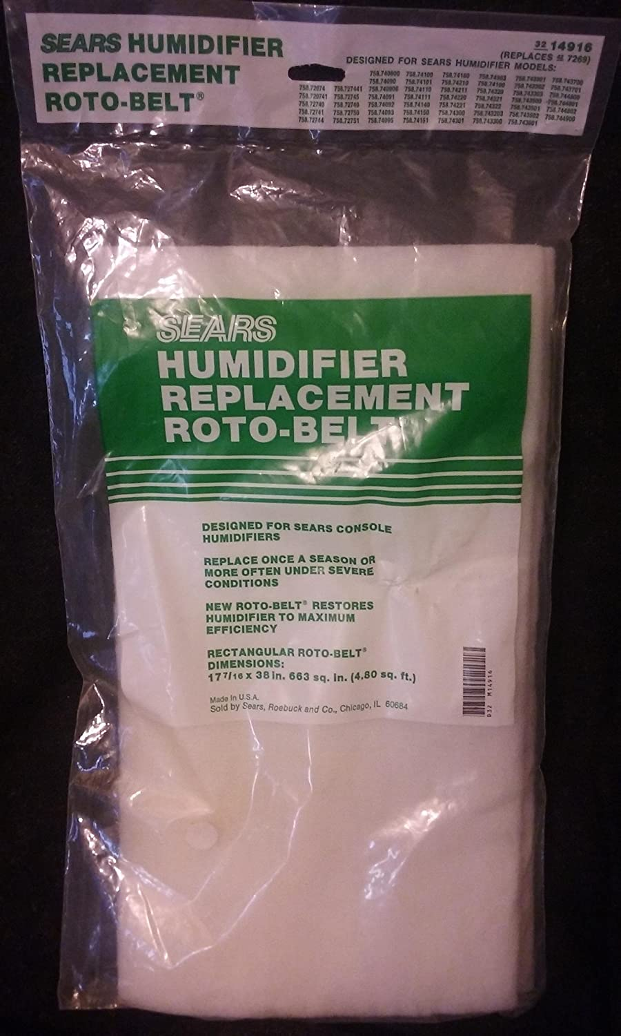 Humidifier Belt 14916 - what is a humidifier
