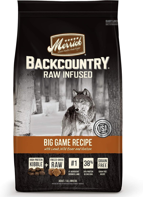 Merrick Backcountry Grain Free Raw Infused Dry Dog Food