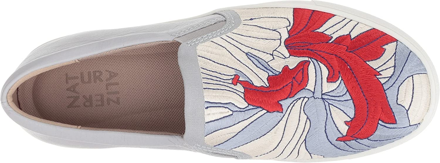 Naturalizer Women's Marianne B077C9XDW4 6 W US|Lapis Multi Embroidered Fabric/Leather