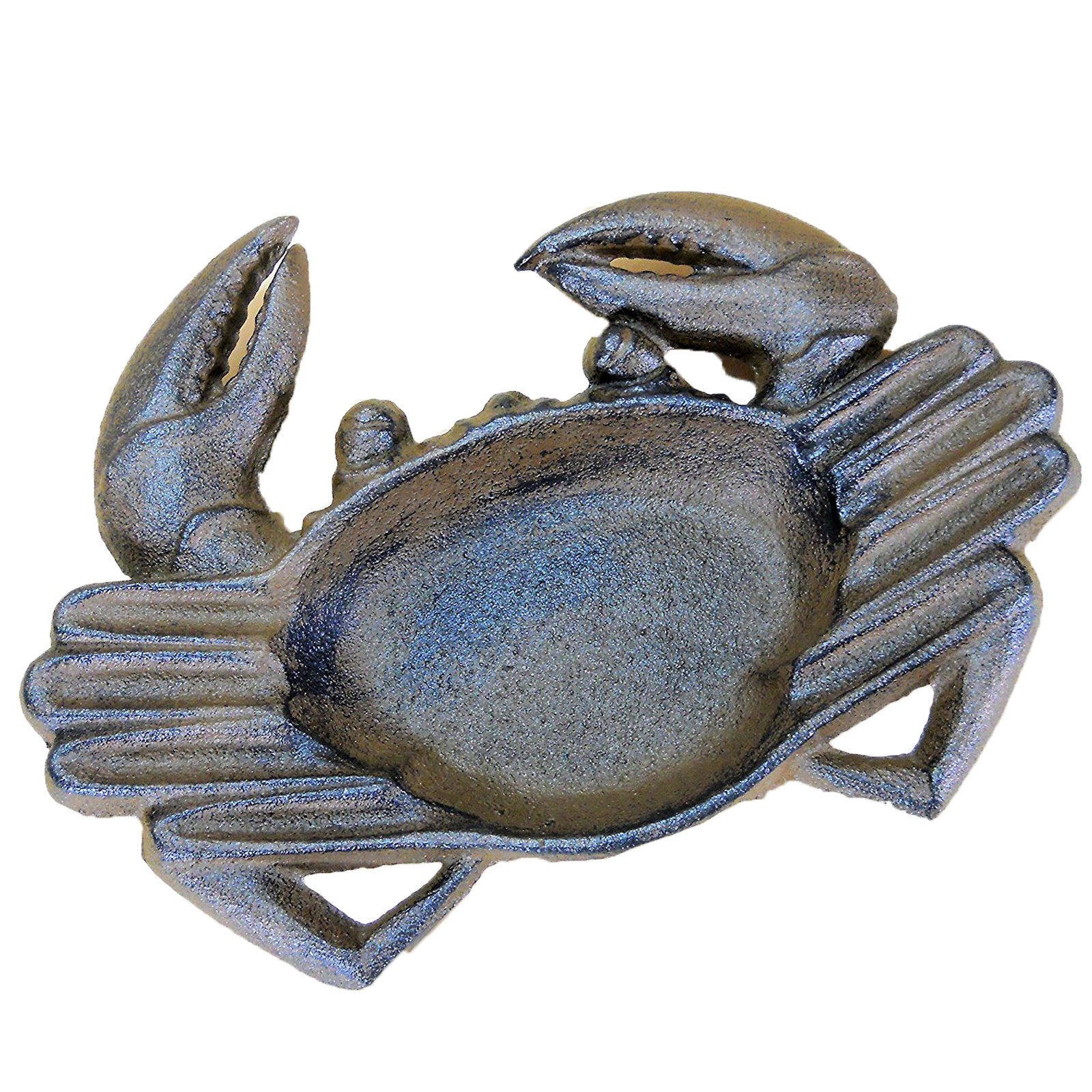 The Crabby Nook Crab Ashtray Cast Iron for Cigars Cigarettes Outdoor Nautical Decor
