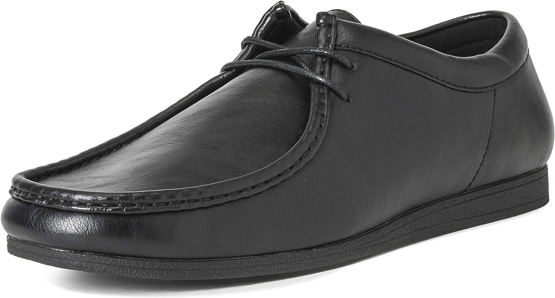 Hombres Queensberry Oscar Wallaby Smart Oficina Desierto Trabajo Loafer Chukka Formal Zapatos