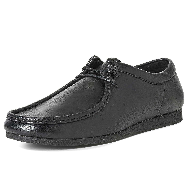 TALLA 44 EU. Hombres Queensberry Oscar Wallaby Smart Oficina Desierto Trabajo Loafer Chukka Formal Zapatos