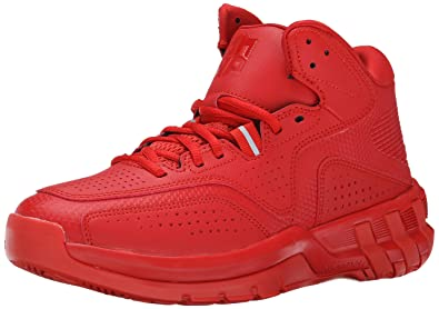 adidas Performance Men's D Howard 6 Basketball Shoe, Red/Red/Red, 7